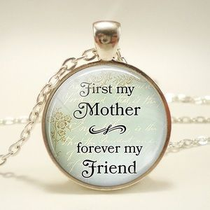 Jewelry - 🆕 First My Mother Forever My Friend Necklace